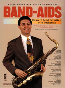 Band Aids: Concert Band Favorites with Orchestra (minus Tenor Saxophone)