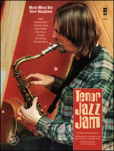 Tenor Jazz Jam (2 CD Set) (minus Tenor Saxophone)