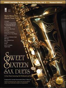 Sweet Sixteen Sax Duets (Hal McCusick) (minus Tenor Saxophone)