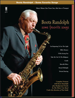 Boots Randolph: Some  Favorite Songs - Standards with a Band (minus Tenor Saxophone)