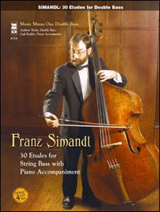 SIMANDL Complete Etudes (4 CD set) (minus Double Bass)