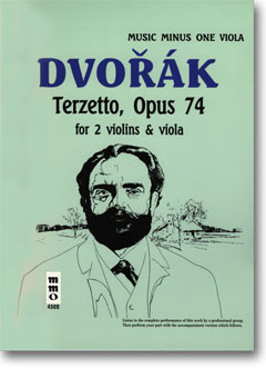 DVORAK String Trio 'Terzetto' in C major -  op. 74 -  B148 (2 Violins/Viola)