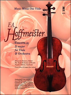 HOFFMEISTER Concerto for Viola and Orchestra in D major (minus Viola)