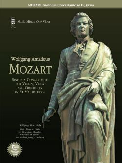 MOZART Sinfonia Concertante for Violin -  Viola and Orchestra in E-flat major -  KV364 (MINUS VIOLA)