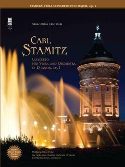 CARL STAMITZ Viola Concerto in D -  op. 1 (minus Viola)