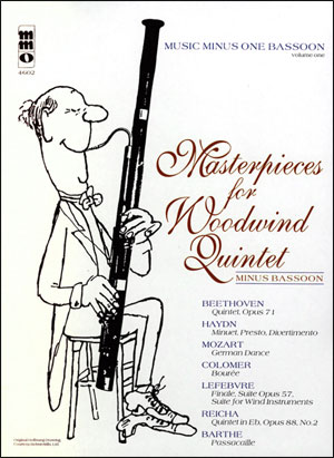 Masterpieces for Woodwind Quintet -  volume 1 (minus Bassoon)