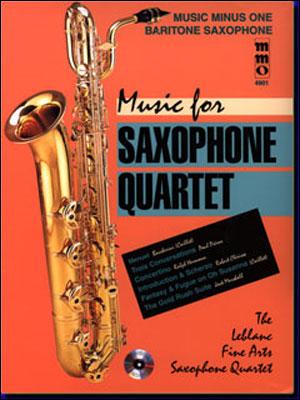 Music for Saxophone Quartet (minus Baritone Saxophone)