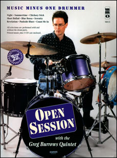 Open Session with the Greg Burrows Quintet (2 CD Set) (minus Drums)