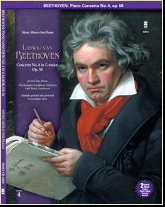BEETHOVEN Concerto No. 4 in G major -  op. 58 (Digitally Remastered 2 CD set) (minus Piano)