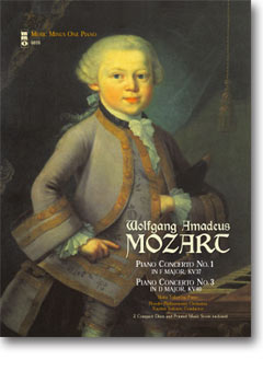 MOZART Concerto No. 1 in F major -  KV37; Concerto No. 3 -  in D major -  KV40 (2 CD set) (minus Pia