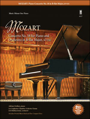 MOZART Concerto No. 18 in B-flat major -  KV456 (minus Piano)
