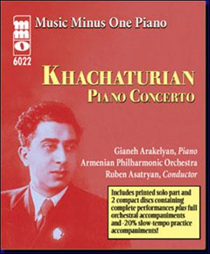KHACHATURIAN Piano Concerto (minus Piano)