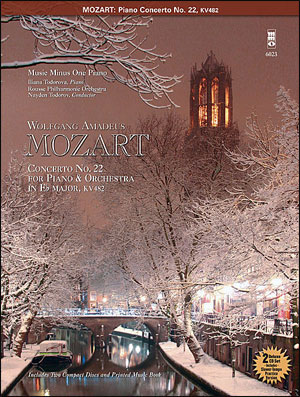 MOZART Concerto No. 22 in E-flat major -  KV482 (2CD Set) (minus Piano)