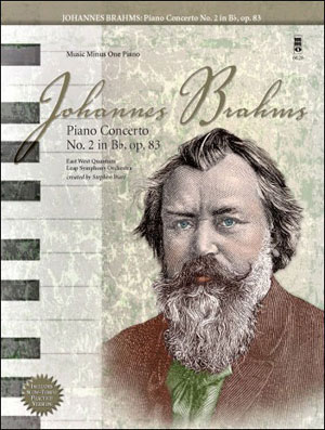 BRAHMS Concerto No. 2 in B-flat -  op. 83 (minus Piano)