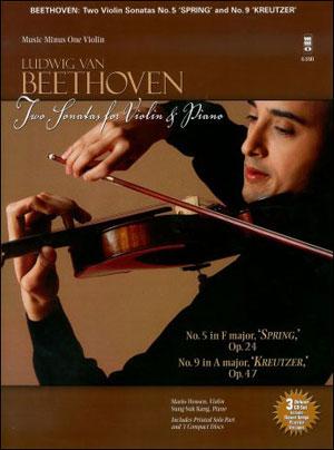 BEETHOVEN Sonatas for Violin & Piano 'Spring - ' op. 24 & 'Kreutzer - ' op. 47 (3 CD Set) (minus Vio