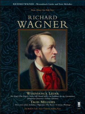 WAGNER Wesendonck Lieder; Trois Melodies (minus Vocal Tenor)