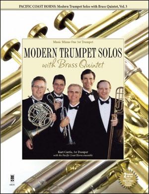 PCH Pacific Coast Horns -  vol. 3: Modern Trumpet Solos (Intermediate-Advanced) (minus Trumpet)