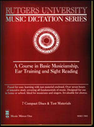 Rutgers University Music Dictation/Ear Training (7 CD Set)