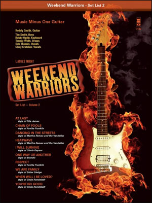 Weekend Warriors - Set List - Volume 2 - Guitar