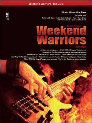 Weekend Warriors - Set List - Volume 2 - Bass
