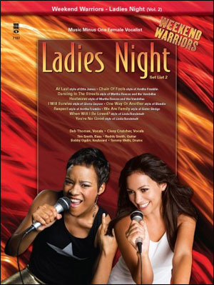 Weekend Warriors - Ladies Night - Set List - Volume 2 - Female Singers