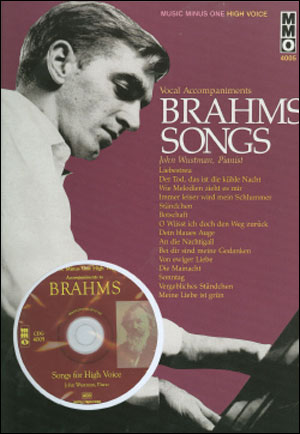 BRAHMS German Lieder - High Voice (Digitally Remastered) (minus Vocal Soprano)