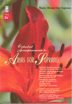 Soprano Arias with Orchestra -  vol. II (minus Vocal Soprano)