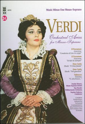 VERDI Arias for Mezzo-Soprano with Orchestra (minus Vocal Mezzo-Soprano)