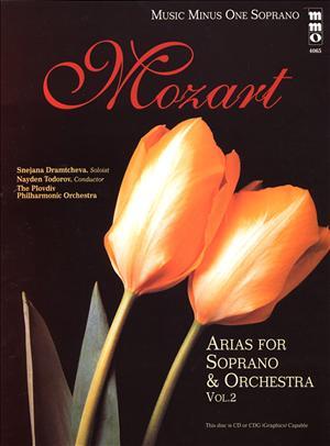 MOZART Opera Arias for Soprano and Orchestra -  vol. II (minus Vocal Soprano)