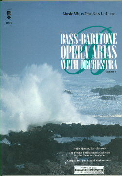 Bass-Baritone Arias with Orchestra -  vol. II (minus Vocal Bass-Baritone)