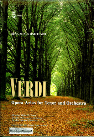VERDI Opera Arias for Tenor and Orchestra (minus Vocal Tenor)
