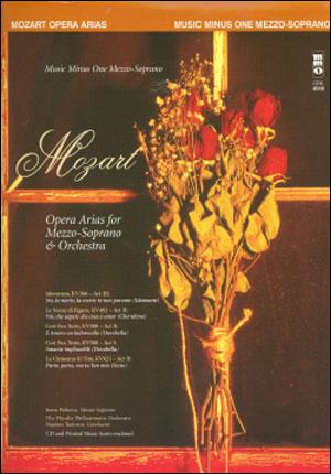 MOZART Opera Arias for Mezzo-Soprano and Orchestra (minus Vocal Mezzo-Soprano)