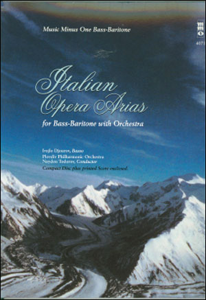 Italian Opera Arias for Bass-Baritone and Orchestra (minus Vocal Bass-Baritone)