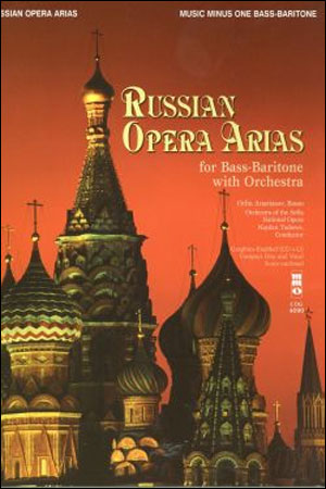 Russian Opera Arias for Bass-Baritone (minus Vocal Bass-Baritone)
