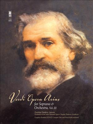 VERDI Soprano Arias -  vol. III (minus Vocal Soprano)