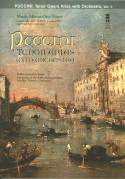 PUCCINI Arias for Tenor and Orchestra -  vol. II (minus Vocal Tenor)