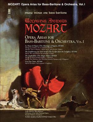MOZART Opera Arias for Bass-Baritone with Orchestra -  vol. I (minus Vocal Bass-Baritone)
