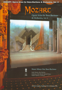 MOZART Opera Arias for Bass-Baritone and Orchestra -  Vol. II (minus Vocal Bass-Baritone)
