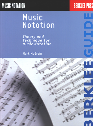 Music Notation - Theory and Technique for Music Notation