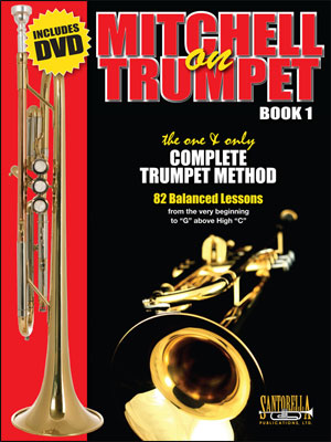 Mitchell On Trumpet - Book 1 with DVD (Lessons 1-26)