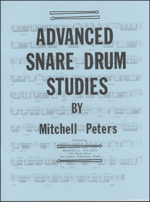 Mitchell Peters - Advanced Snare Drum Studies