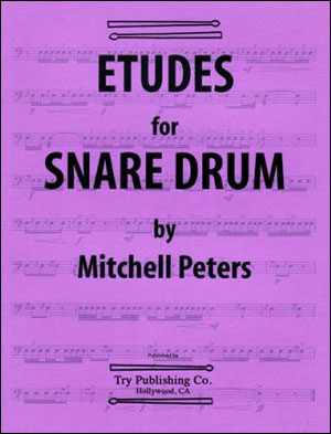 Mitchell Peters - Etudes For Snare Drums