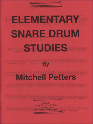 Mitchell Peters - Elementary Snare Drum Studies