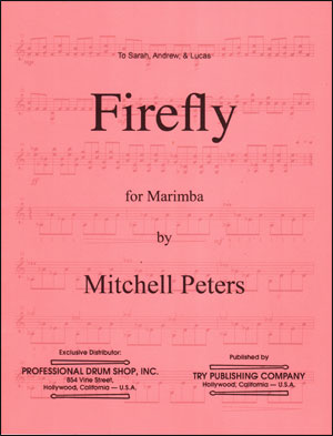 Mitchell Peters - Firefly for Marimba