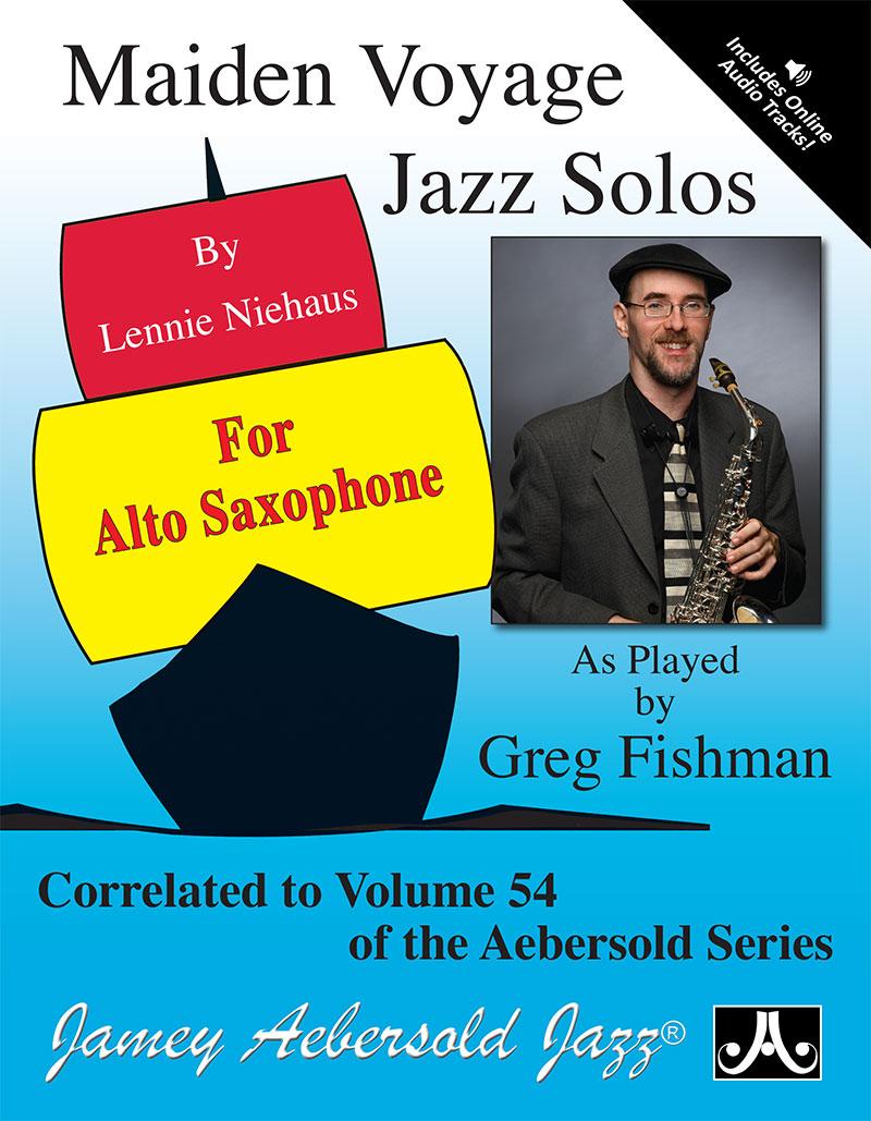 Maiden Voyage Jazz Solos For Alto Sax - Book/CD