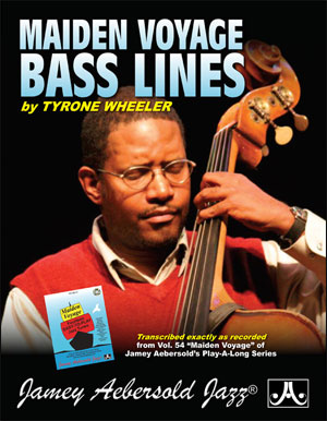 "Transcribed Bass Lines From Volume 54 ""Maiden Voyage"" Play-A-Long"