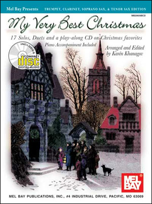 My Very Best Christmas, Trumpet, Clarinet, Soprano Sax (Book/CD Set)