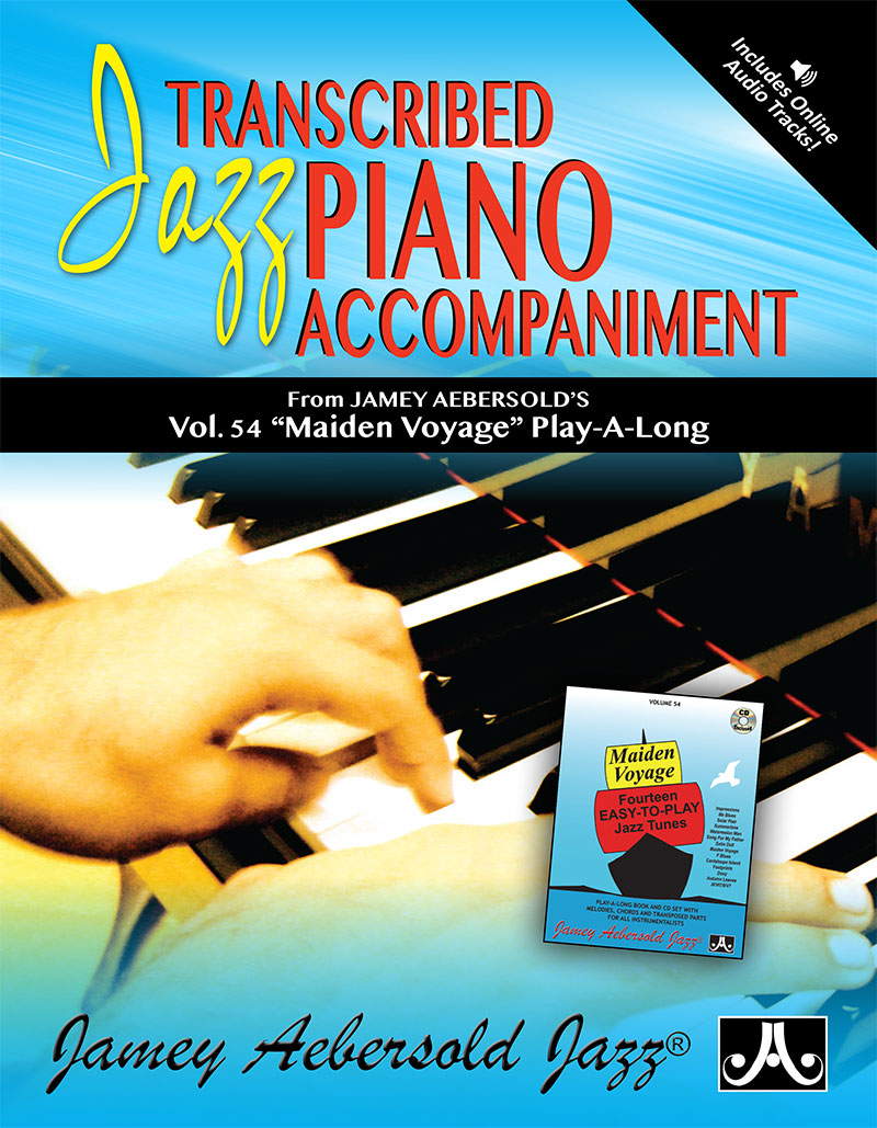 Piano Voicings From The Volume 54 Play-A-Long