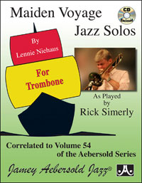 Maiden Voyage Solos For Trombone - Book/CD