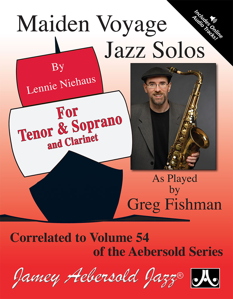 Maiden Voyage Jazz Solos For Tenor Sax - Book/CD